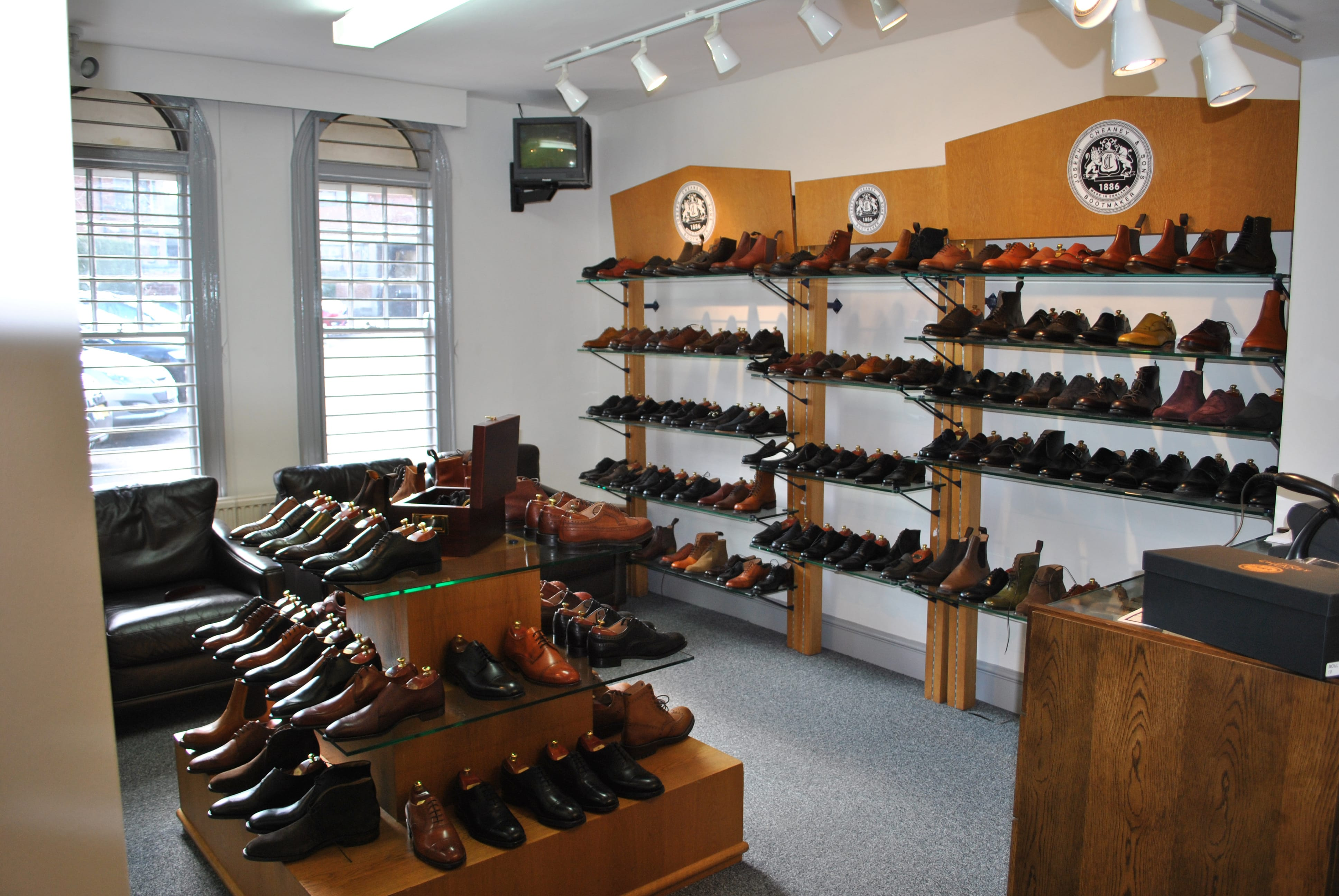 361190b19327a Cheaney Factory Shop   The Cheaney Journal