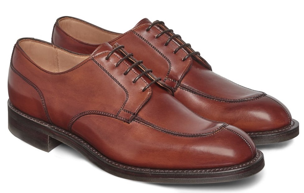 derby shoes, timeless shoes every man should own, types of shoes for men