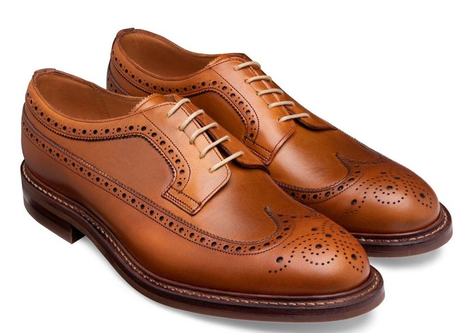 brown tan brogues, The Best Suit and Shoe Combinations, what colour shoes should you wear with your suit?