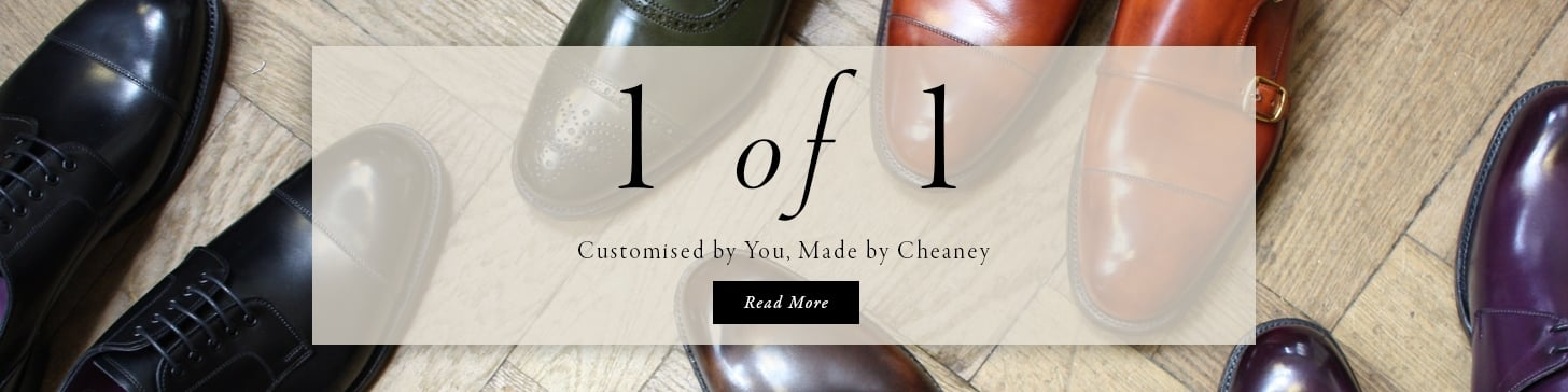 1 of 1 Customised by you, Made By Cheaney - Read More