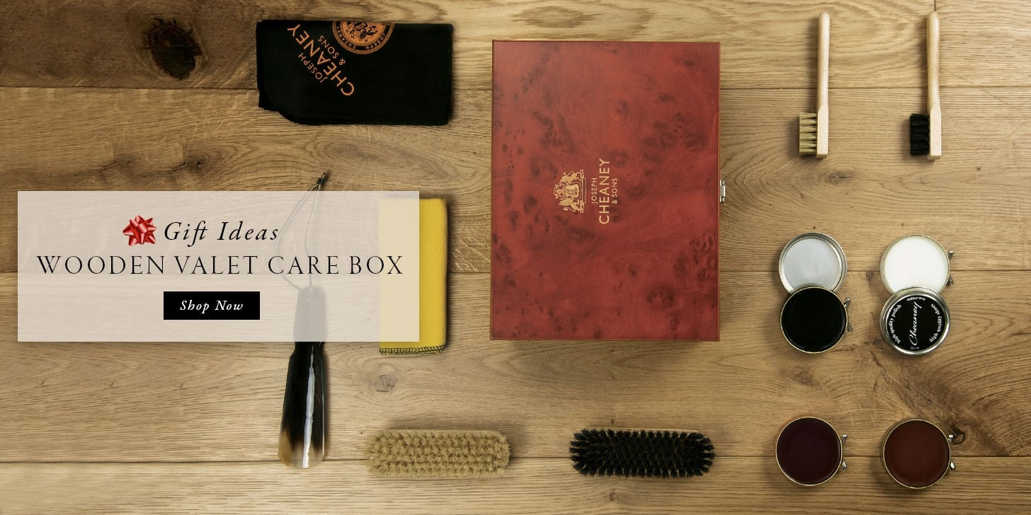 Gift Ideas - Wooden Valet care Box