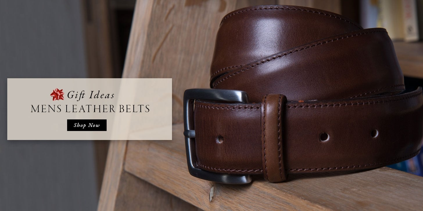 Gift Ideas - Mens Leather Belts