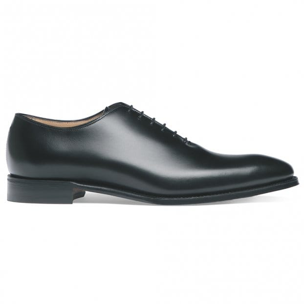 Cheaney Berkeley Wholecut Oxford in Black Calf Leather