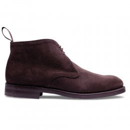 Sherwood Chukka Boot in Brown Eco Suede