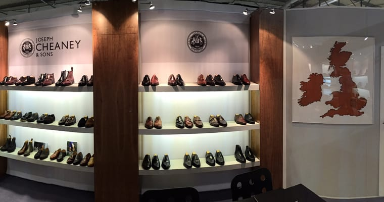 We're at Micam, Milan, showcasing our AW16 Collection