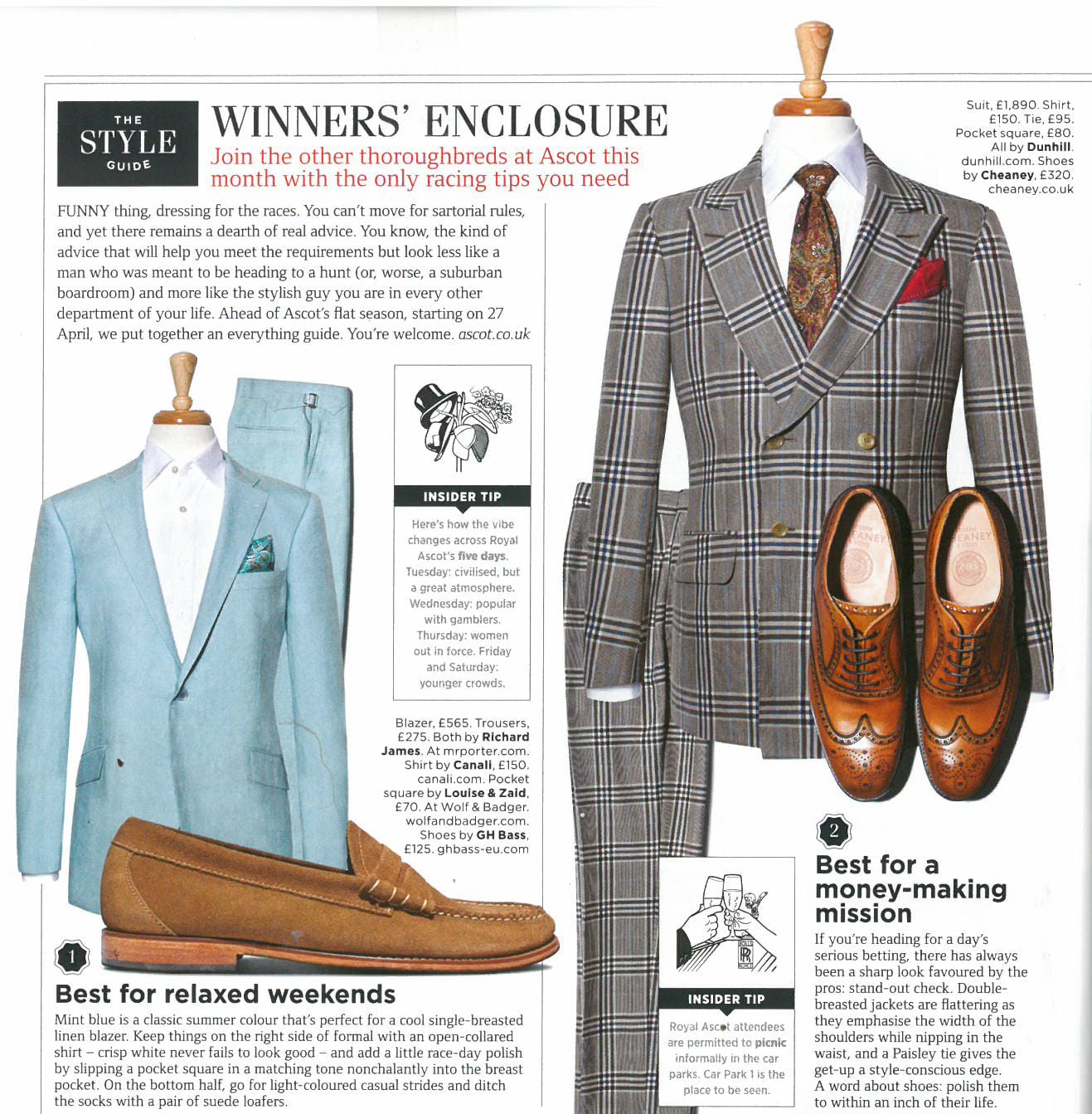 Cheaney Arthur Iii Brogue In Dark Leaf Calf Leather Featured In British Gq 39 S Style Guide The