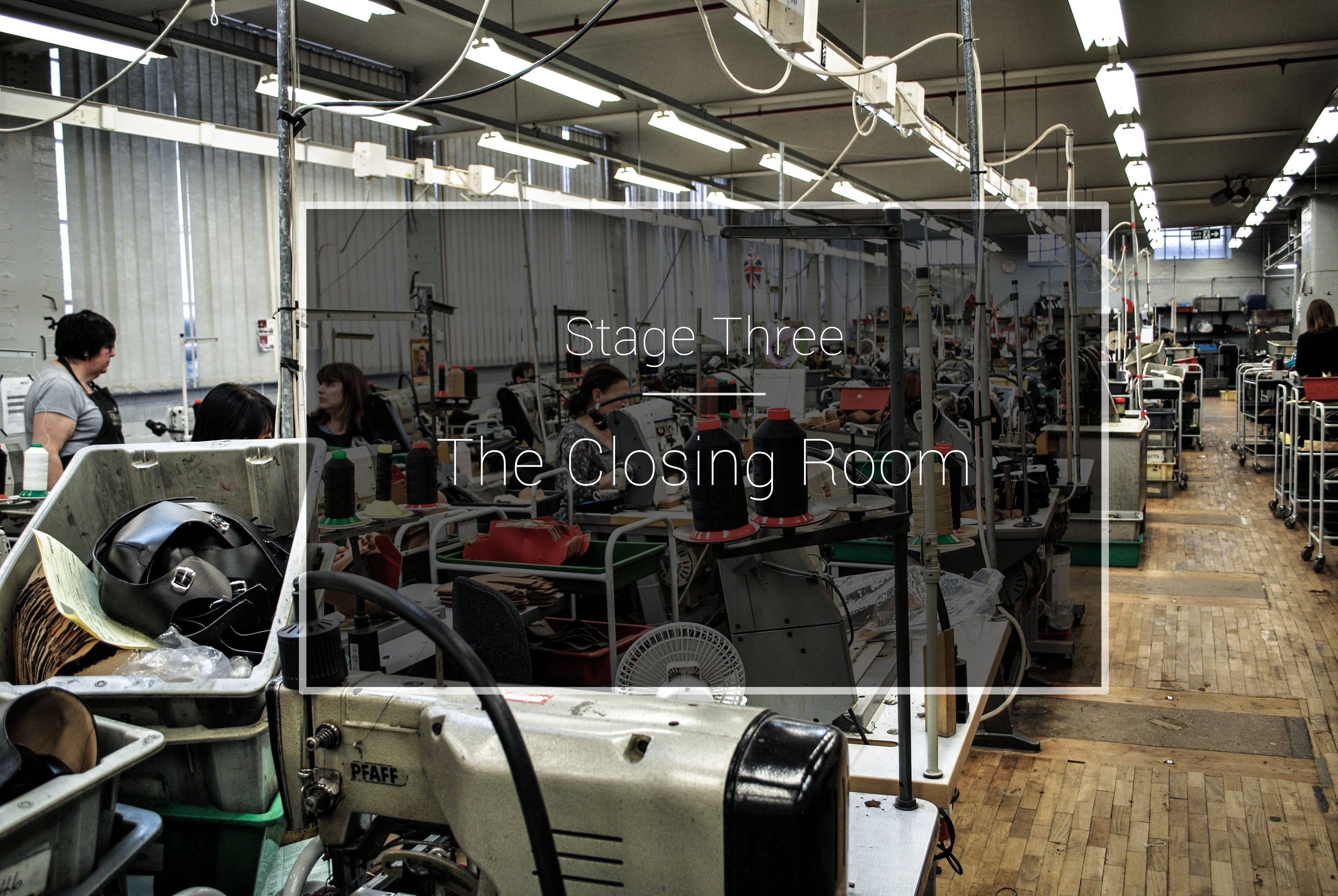 The Cheaney Factory: The Closing Room