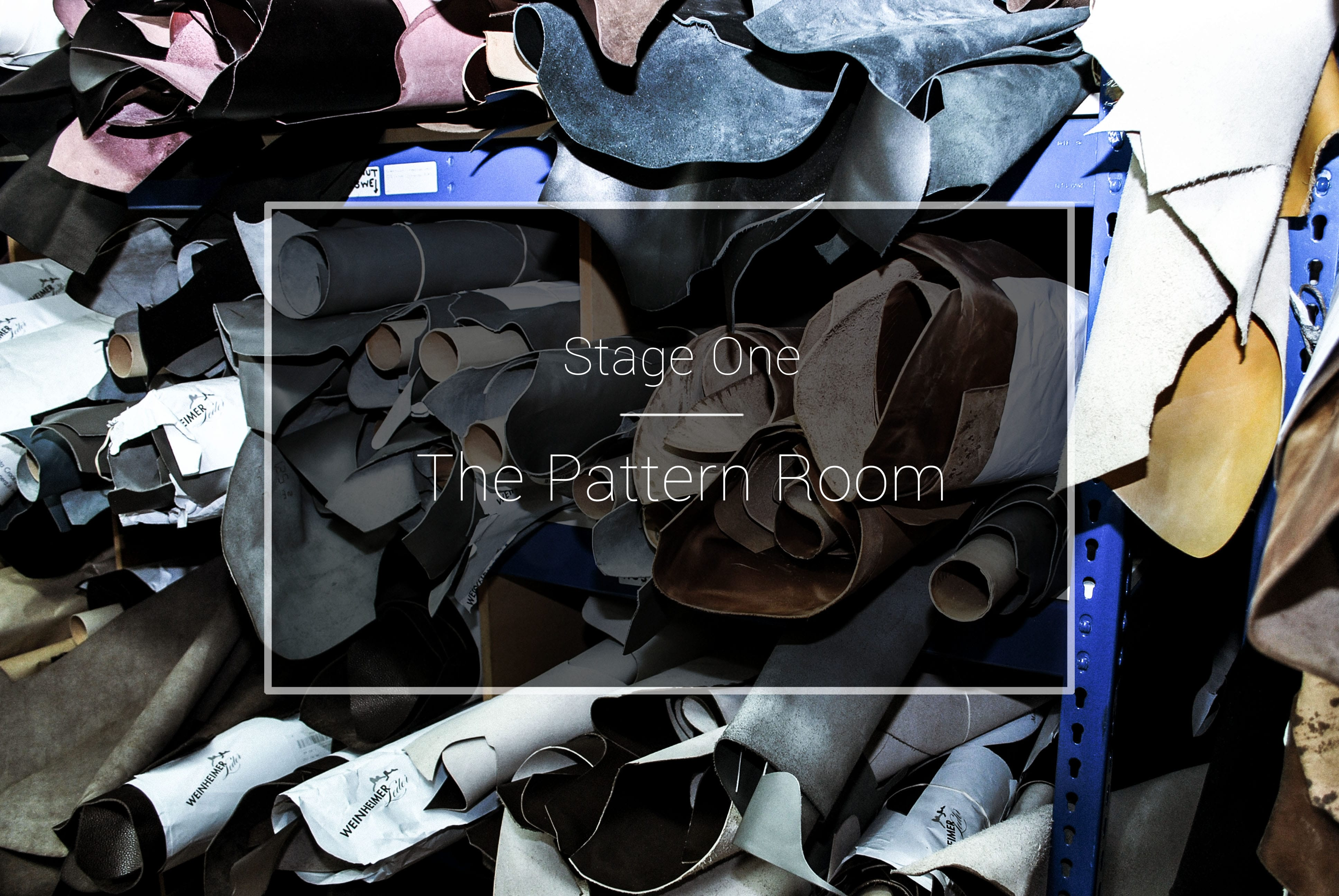 The Cheaney Factory: The Pattern Room