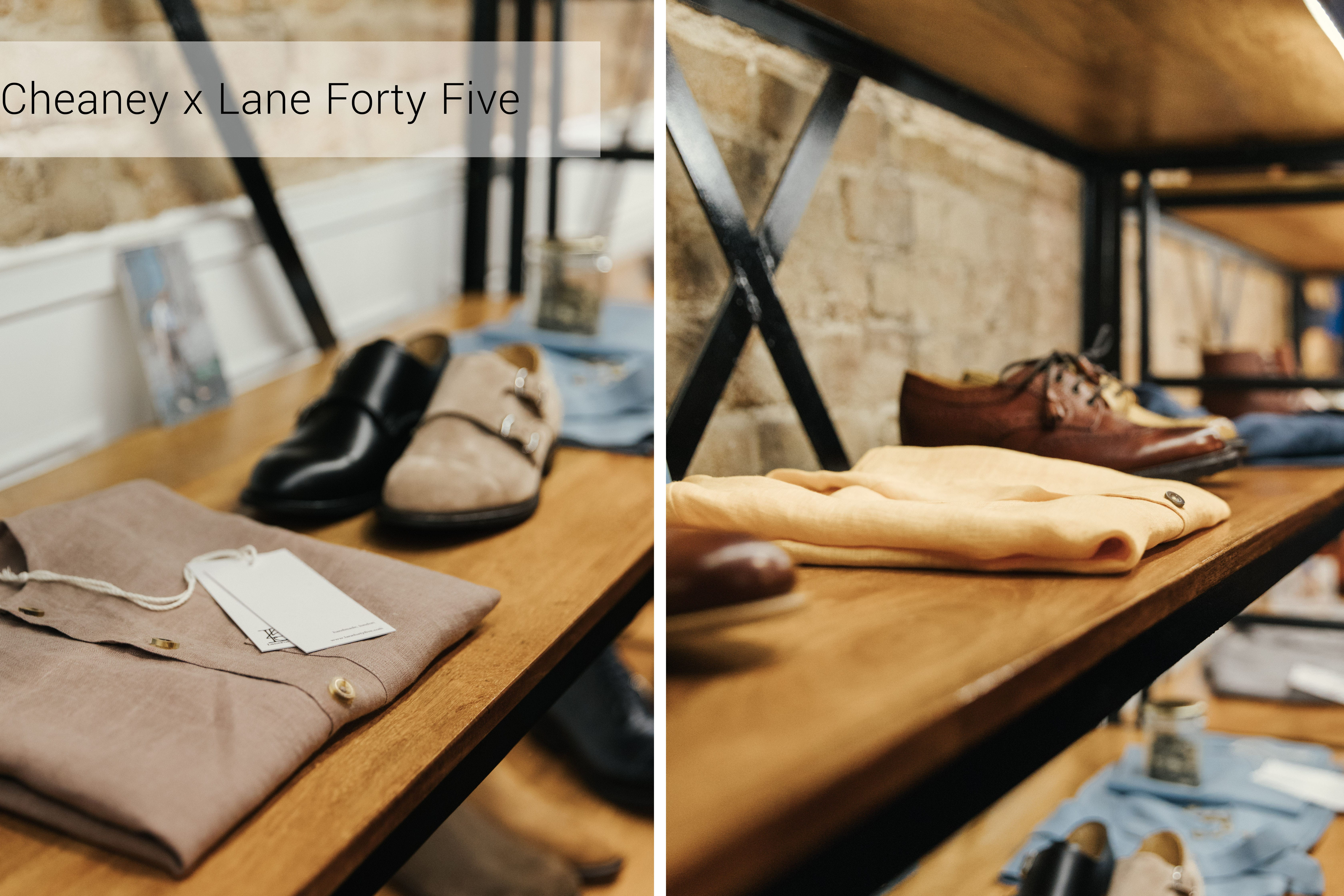 Cheaney X Lane 45 In Store Event