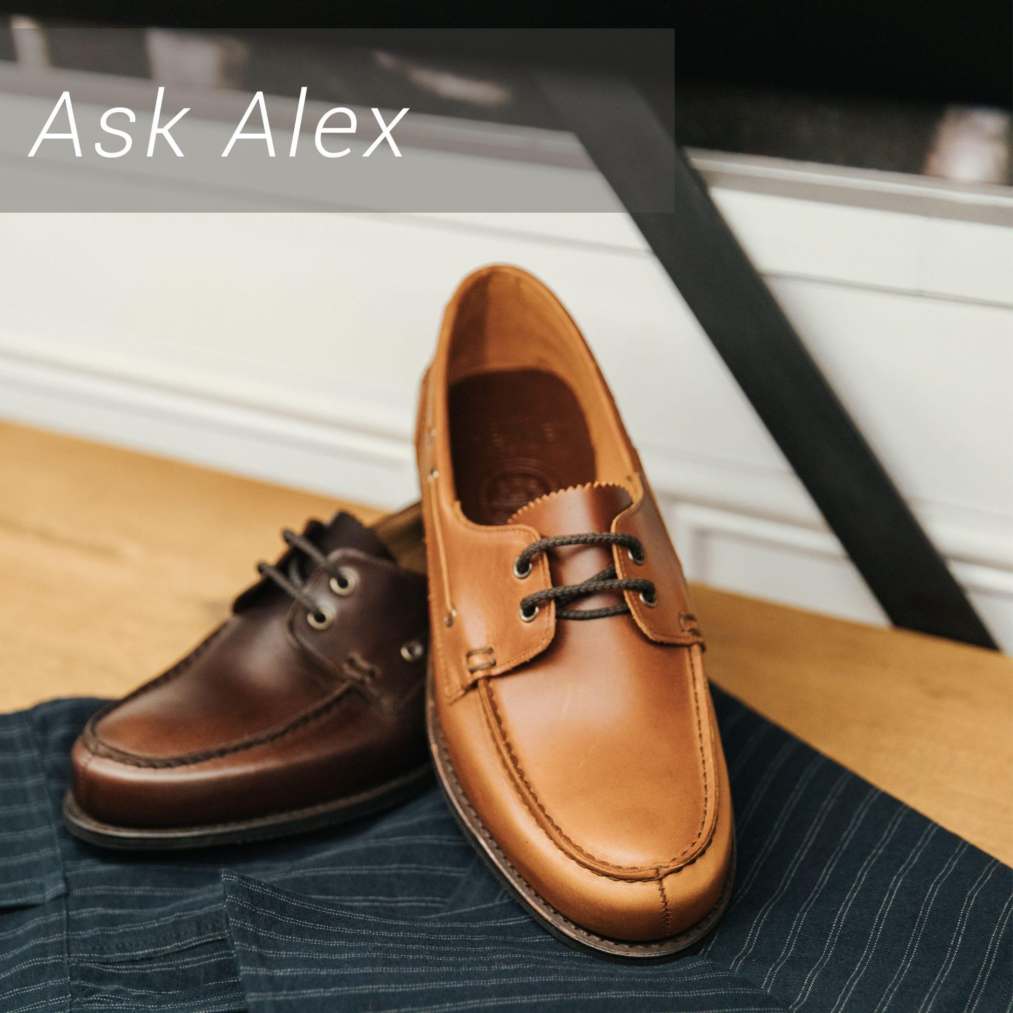 Ask Alex: Top 6 Essential Men's Footwear Styles