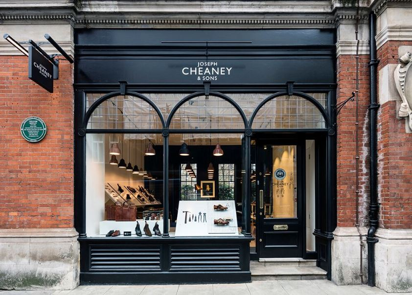 Cheaney Covent Garden Included in Henrietta Street Guide