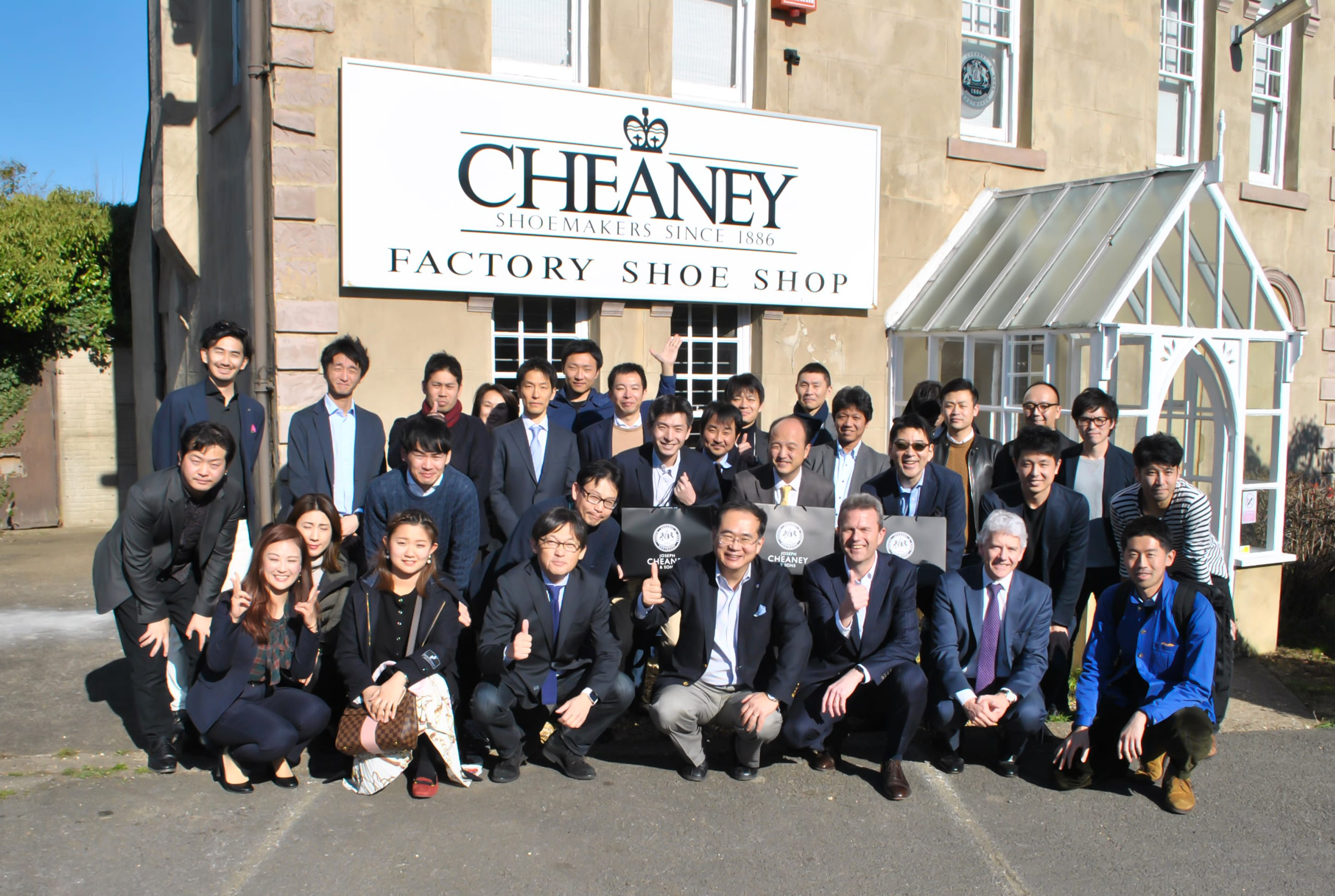 Cheaney Welcomes Professors & Students of Waseda University