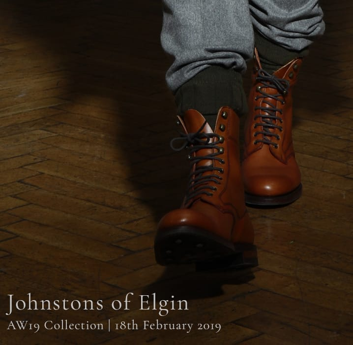 Johnstons Of Elgin Presents AW19 Collection at LFW