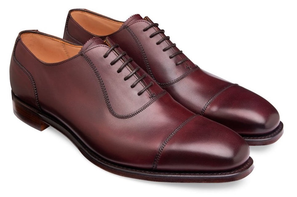 burgundy oxfords, The Best Suit and Shoe Combinations, what colour shoes should you wear with your suit?