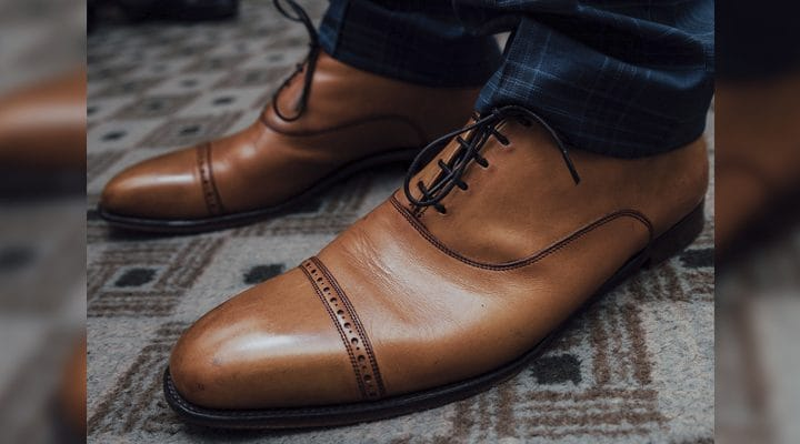 How to Minimise Creasing On Leather Shoes