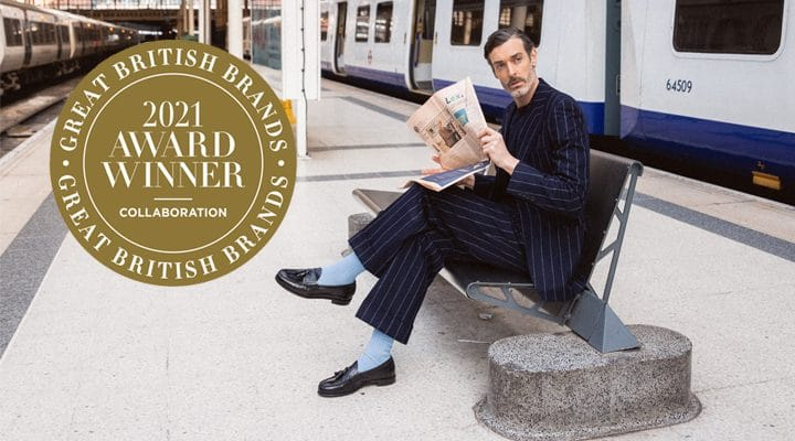 Cheaney Wins The Country & Town House Great British Brands Award For Best Collaboration