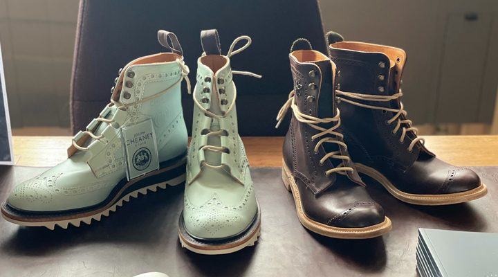 Cultivating Future Generations of Shoemakers; Cheaney Apprenticeships