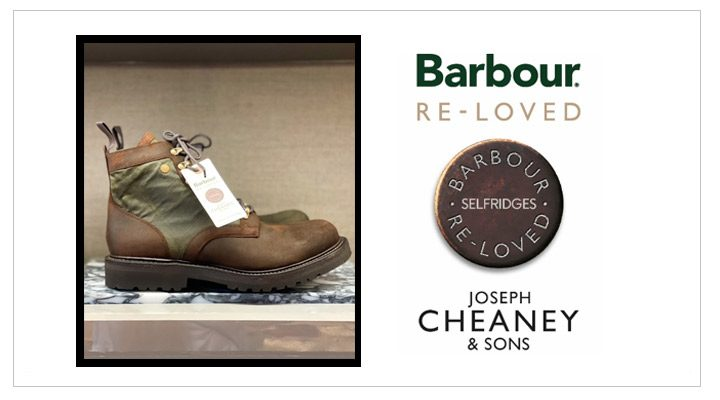 Barbour X Cheaney; Re-Loved Capsule Collection