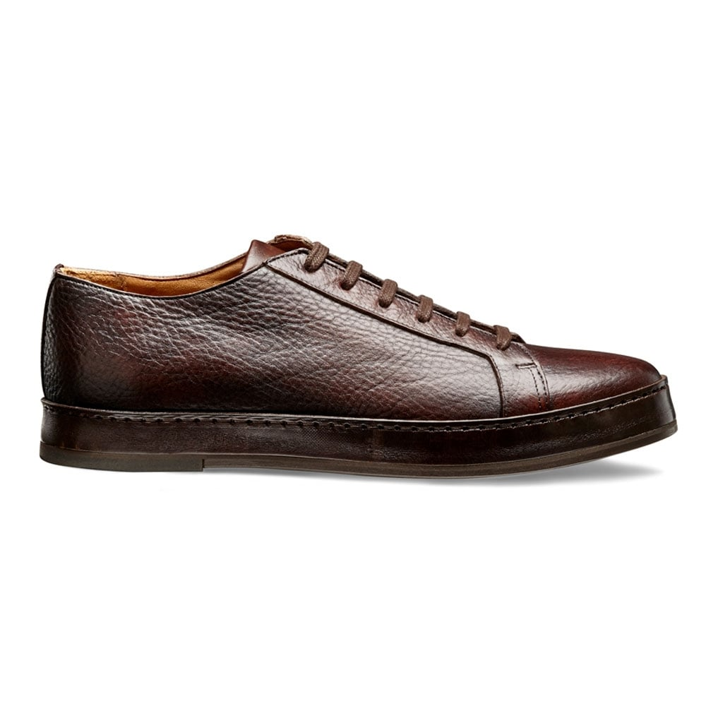 new appearance look for finest selection Cheaney 1886 Sneaker in Dark Brown Deer Skin