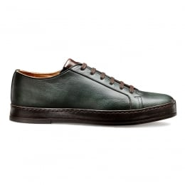 1886 Sneaker in Green Deer Skin