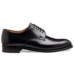 Albany II Derby in Black Calf Leather | Leather Sole