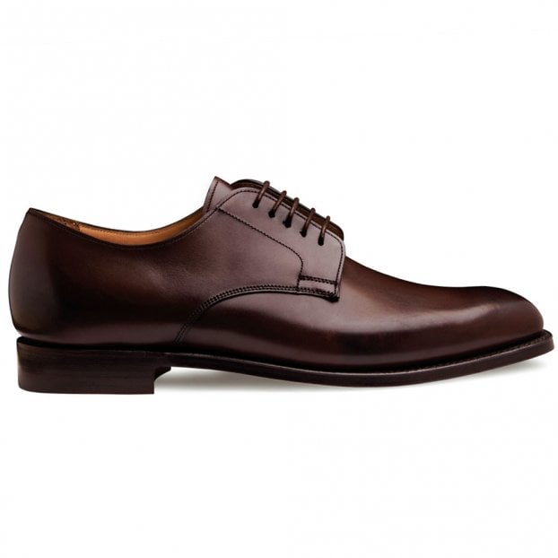 Cheaney Albany II Derby in Dark Brown Calf Leather | Leather Sole