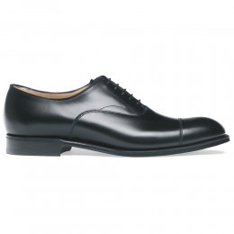 7f7c8e5589fa Alfred Capped Oxford in Black Calf Leather