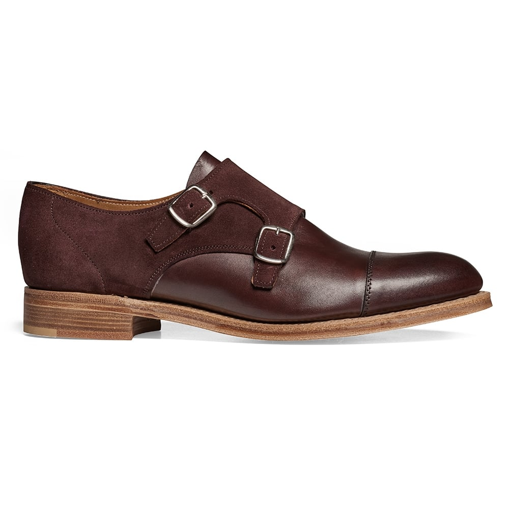 Double Buckle Monk Shoes Ladies