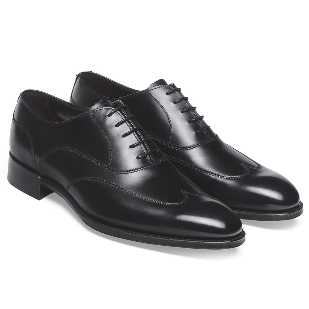 Oxford Black Formal Shoes