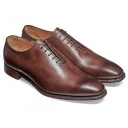 Berkeley Whole Cut Oxford in Brown Hawaii Pass Leather