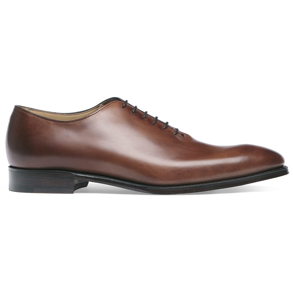 Cheaney Berkeley Men S Brown Leather Oxford Shoe Made In England