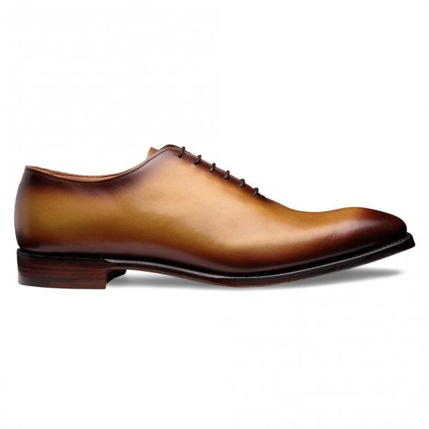Cheaney Berkeley Wholecut Oxford in Original Chestnut Calf Leather
