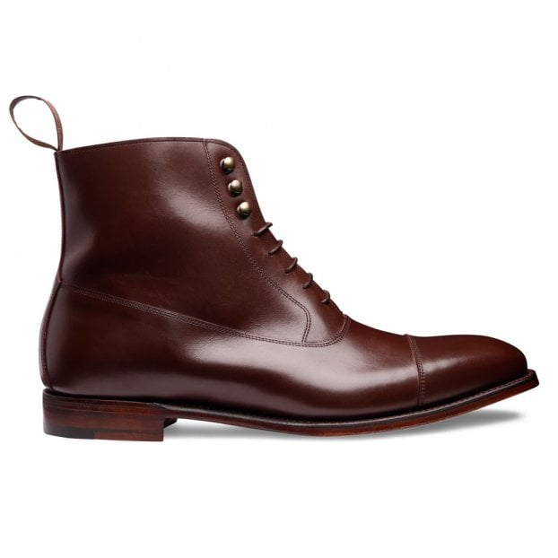 Cheaney Boughton Balmoral Boot in Brown Calf Leather