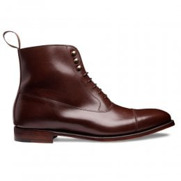 Boughton Balmoral Boot in Brown Calf Leather