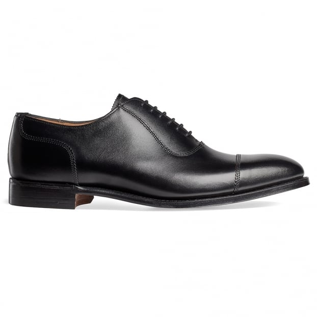 Cheaney Brackley Oxford in Black Calf Leather