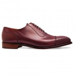 Brackley Oxford in Burgundy Calf Leather