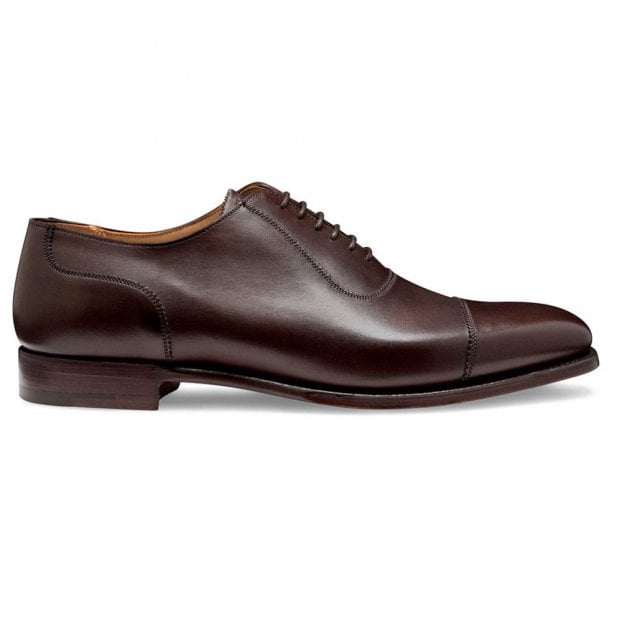 Cheaney Brackley Oxford in Burnished Mocha Calf Leather