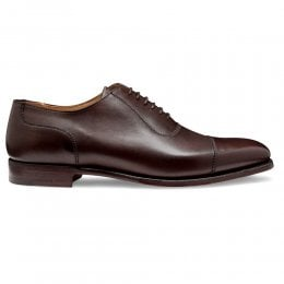 Brackley Oxford in Burnished Mocha Calf Leather