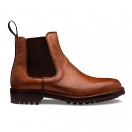 Brecon C Veldtschoen Chelsea Boot in Almond Grain Leather