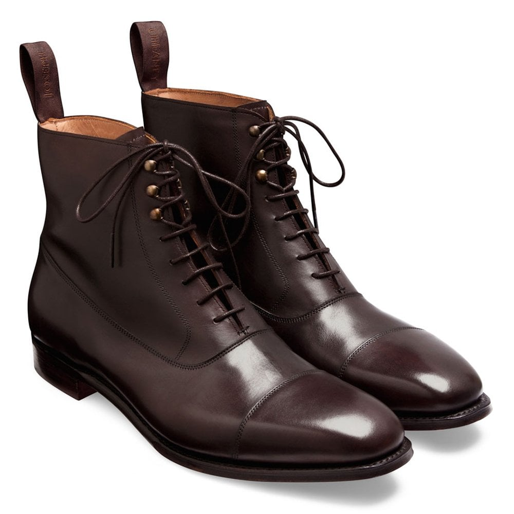 d48c57e6f7f30 Cheaney Brixworth Balmoral Boot in Burnished Mocha Calf Leather