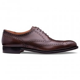 Broad II Oxford Brogue in Mocha Vegano Leather