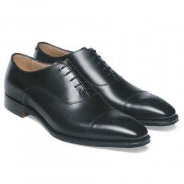 Cambridge Oxford in Black Calf Leather
