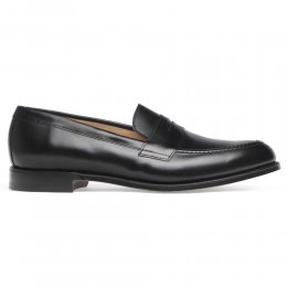 Cannon Loafers in Black Calf Leather