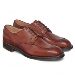 Chiswick R Derby in Dark Leaf Calf Leather