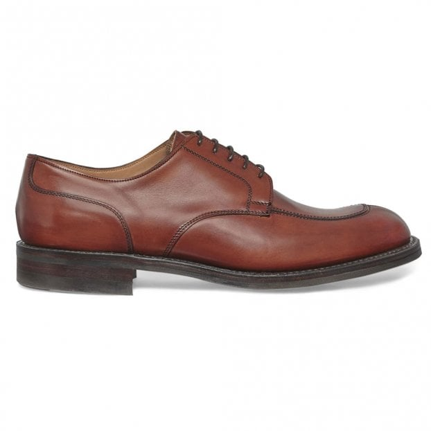 Cheaney Chiswick R Derby in Dark Leaf Calf Leather