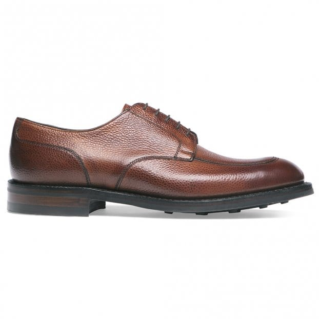 Cheaney Chiswick R Derby in Mahogany Grain Leather
