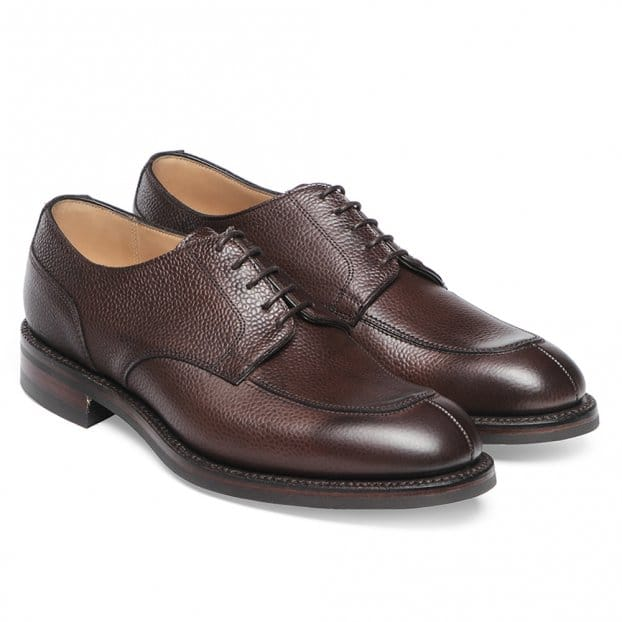 Cheaney Chiswick R Derby in Walnut Grain Leather