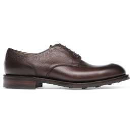 Chiswick R Derby in Walnut Grain Leather
