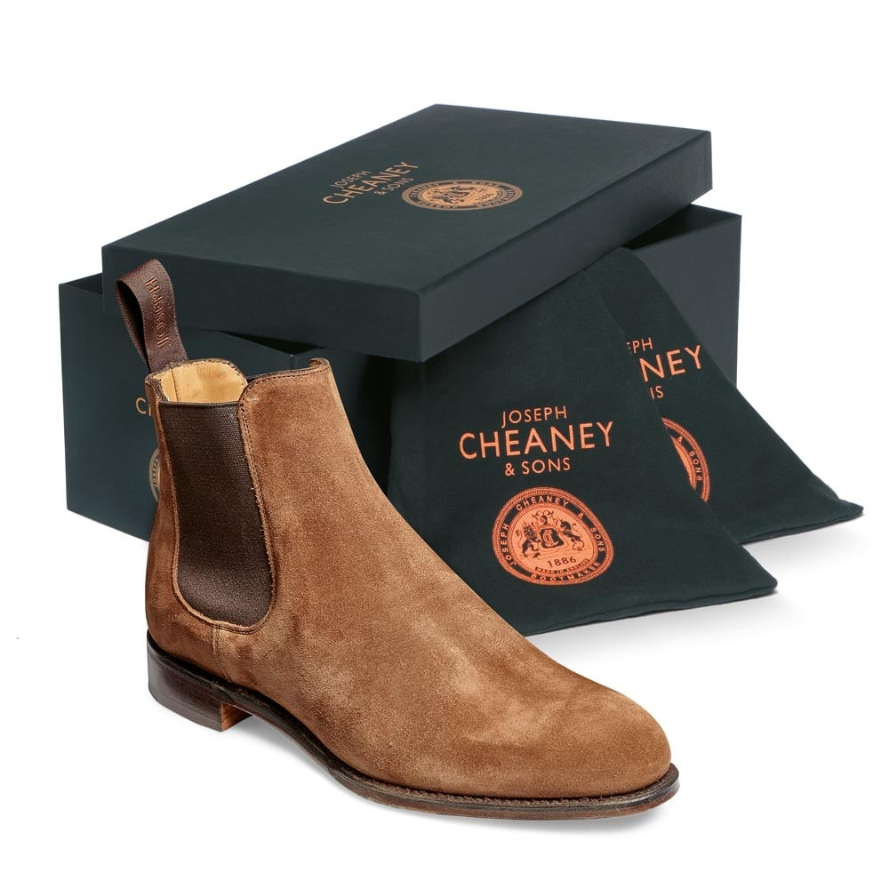 a1be8b7b0 Clara Chelsea Boot in Fox Suede