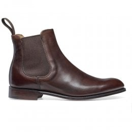 Clara Chelsea Boot in Mocha Calf Leather
